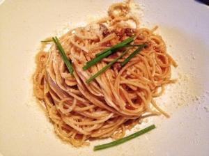 Shitake Garlic Noodles