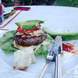 Bun-less Burger
